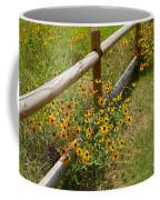 Black Eyed Susans In A Wildflower Meadow Coffee Mug
