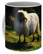 Black Faced Mountain Sheep Coffee Mug