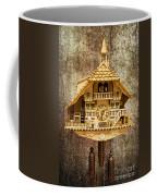 Black Forest Figurine Clock Coffee Mug