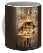 Black Forest Figurine Clock Coffee Mug