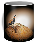 Black Francolin Coffee Mug
