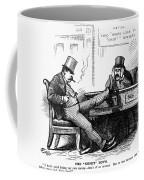 Black Friday Cartoon, 1873 Coffee Mug