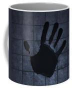 Black Hand Cyan Coffee Mug