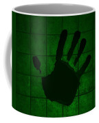 Black Hand Green Coffee Mug