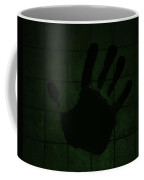 Black Hand Olive Green Coffee Mug