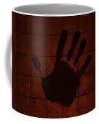Black Hand Orange Coffee Mug