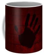 Black Hand Red Coffee Mug