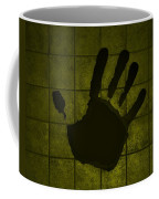 Black Hand Yellow Coffee Mug