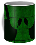 Black Hands Green Coffee Mug
