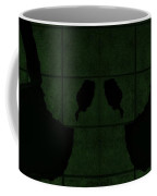 Black Hands Olive Green Coffee Mug