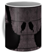 Black Hands Pink Coffee Mug