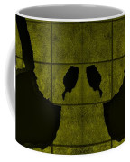 Black Hands Yellow Coffee Mug