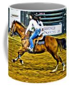 Black Hatted Racer Coffee Mug