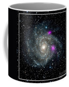 Black Holes In Spiral Galaxy Nasa Coffee Mug by Rose Santuci-Sofranko