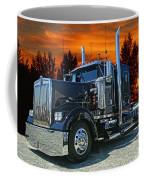 Black Kenworth Coffee Mug