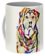 Black Lab Watercolor Art Coffee Mug
