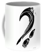Black Magic 300 - Black And White Art Coffee Mug