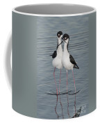 Black-necked Stilts Coffee Mug