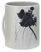 Black Orchid Coffee Mug
