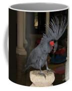 Black Palm Cockatoo Coffee Mug