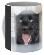 Black Panther Caged And Angry Coffee Mug