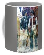 Black Panther Mural Berkeley Ca1977 Coffee Mug