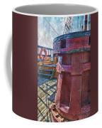 Black Pearl Deck Coffee Mug