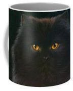 Black Persian Coffee Mug