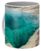 Black Pool In West Thumb Geyser Basin Coffee Mug
