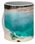 Black Pool In West Thumb Geyser Basin In Yellowstone National Park Coffee Mug