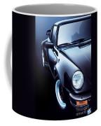 Black Porsche Turbo Coffee Mug