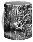 Black Reflected Coffee Mug