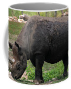 Black Rhino-19 Coffee Mug