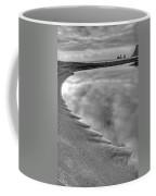 Black Sand Icelandic Beach Coffee Mug