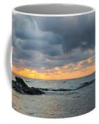Black Sea Sunrise Before Storm Coffee Mug