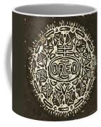 Black Sepia Oreo Coffee Mug