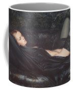 Black Silk Coffee Mug