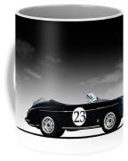 Black Speedster Coffee Mug