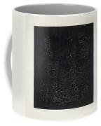 Black Square Coffee Mug by Kazimir Malevich