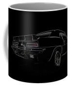 Black Ss Line Art Coffee Mug