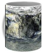 Black Surf Coffee Mug