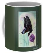 Black Swallowtail Butterfly By George Wood Coffee Mug