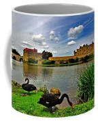 Black Swans At Leeds Castle II Coffee Mug