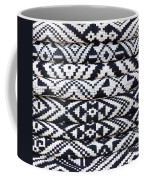 Black Thai Fabric 02 Coffee Mug