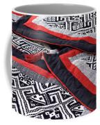 Black Thai Fabric 04 Coffee Mug