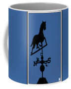 Black Trotter Weathervane Coffee Mug