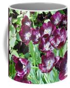 Black Tulips Coffee Mug
