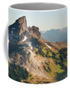 Black Tusk Mountain And Helm Lake Coffee Mug