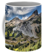 Black Tusk Over Alpine Meadows Coffee Mug