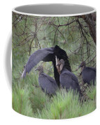Black Vultures II Coffee Mug